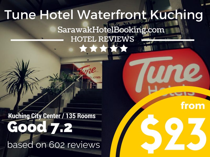 Tune Hotel – Waterfront Kuching